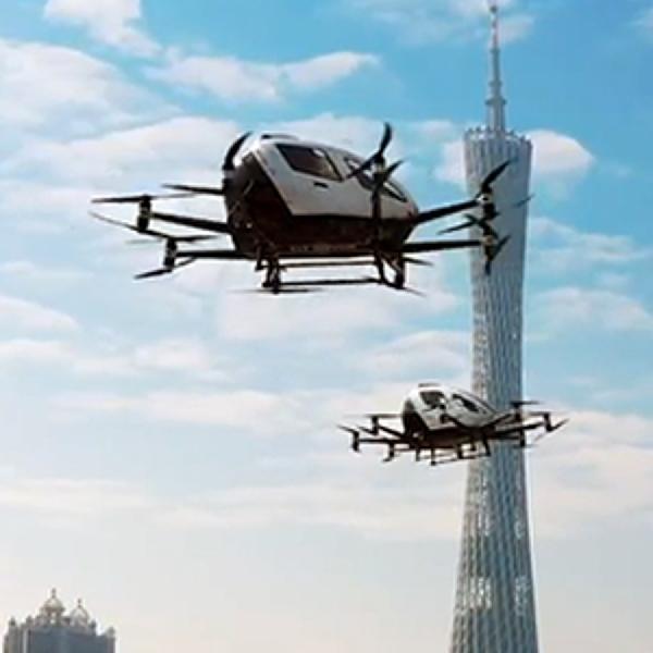 Prestige Perkenalkan Kendaraan Udara Otonom di IIMS 2021