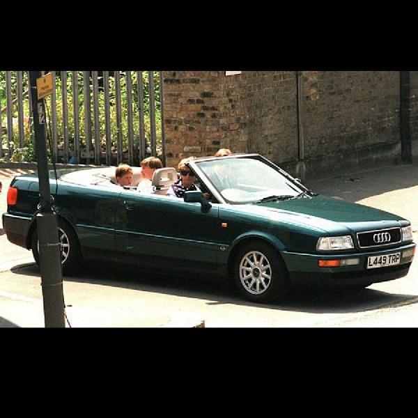 Mobil Audi 80 Cabriolet Milik Mendiang Lady Diana Dilelang, Harga Dibawah Rp1 Miliar