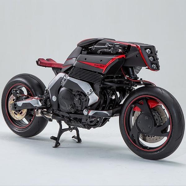 Modifikasi Yamaha GTS1000, Usung Gaya Ultra Futuristic