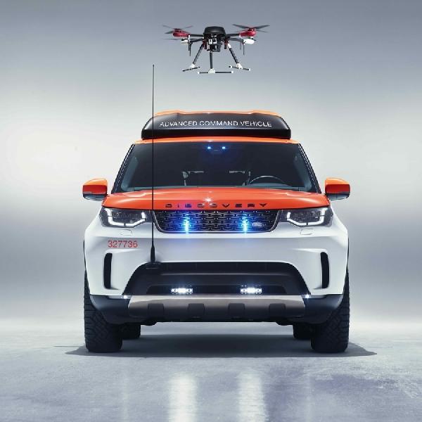 Land Rover Project Hero - Spesialis Penyelamat dengan Drone