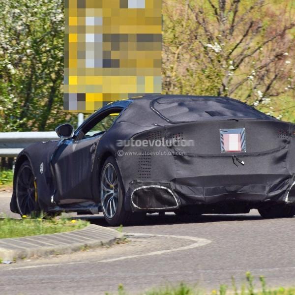 "Prototipe Ferrari 812 ""Versione Speciale"" Tampak Seperti Batmobile"