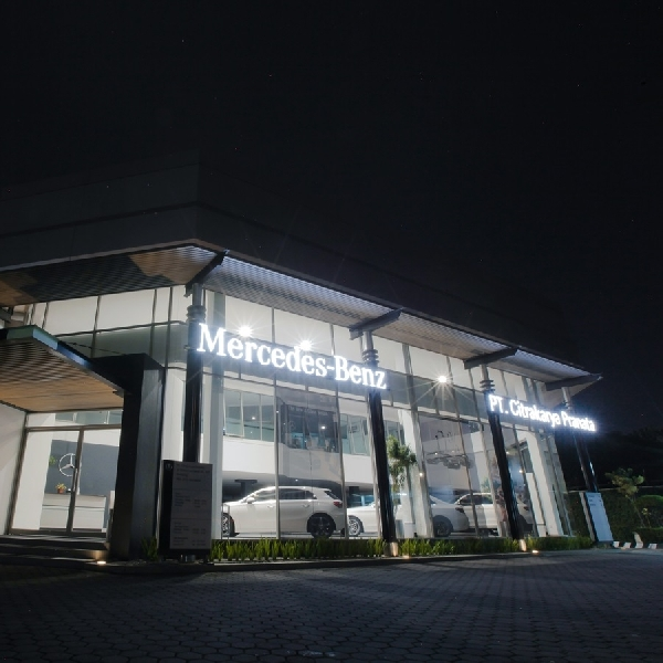PT Citrakarya Pranata Raih Penghargaan Mercedes-Benz Passenger Cars Dealer of the Year 2019