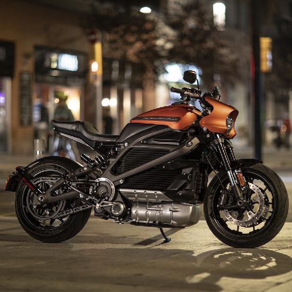 Harley Davidson Pasang Berbagai Fitur Menarik pada LiveWire