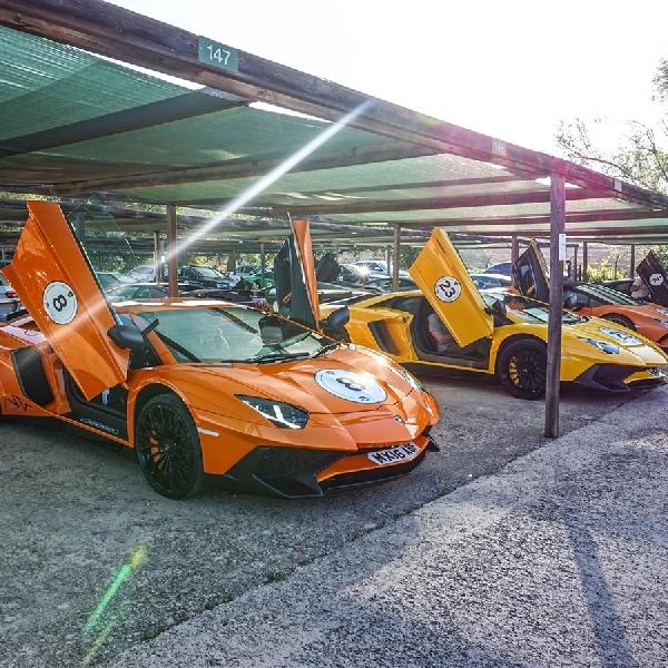 Tur Panjang Menakjubkan dengan Lamborghini
