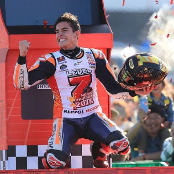 Marquez Raih Gelar Juara Dunia Ketujuhnya Musim Ini
