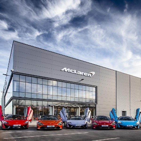 McLaren Buka Fasilitas Teknologi Baru di Inggris