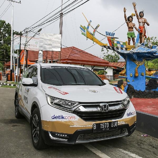 Memulai Perjalanan dari Ujung Sumatera, Rombongan All-New Honda CR-V Turbo Tiba di Papua