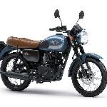 Kawasaki Motor Indonesia Rilis W175 MY 2019 dengan Warna dan Striping Baru
