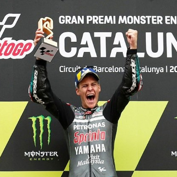 MotoGP: Quartararo Akui Kemenangan di Catalunya Adalah Momen Terbaiknya