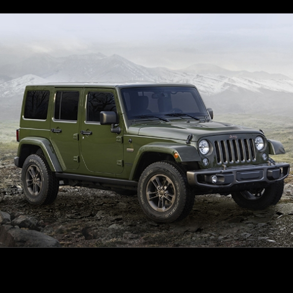 Wrangler 75th Anniversary Special Edition