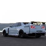 Nissan GT-R R34 Mirip Supercar Nismo?