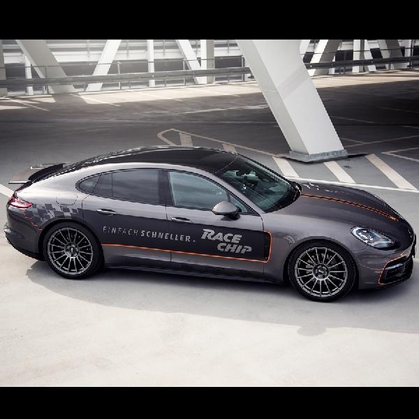 Modifikasi Porsche Panamera 4S Diesel - Torsinya Tembus 1050 Nm