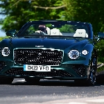 Bentley Continental GT Convertible Number 1 Edition Berlapis Emas