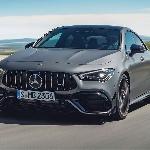 Debut Mercedes AM CLA 45 Terbaru