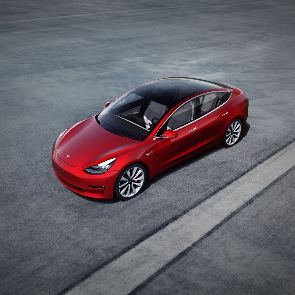 Euro NCAP Uji Keselamatan Tesla Model III
