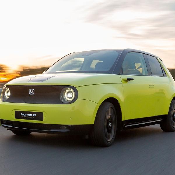 Ulasan Prototipe Honda-e 2019