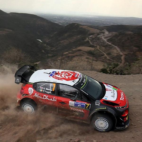 WRC: Tim Citroen Raih Kemenangan Pertamanya di Rally Meksiko
