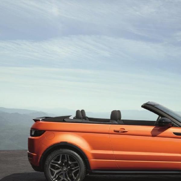Range Rover Evoque Convertible Dirilis dengan Harga Menarik