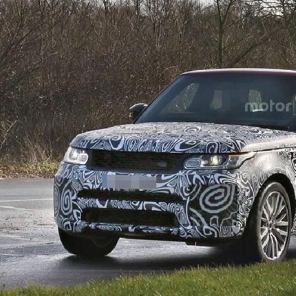 Range Rover Sport SVR Facelift Tertangkap Kamera Sedang Lakukan Pengujian