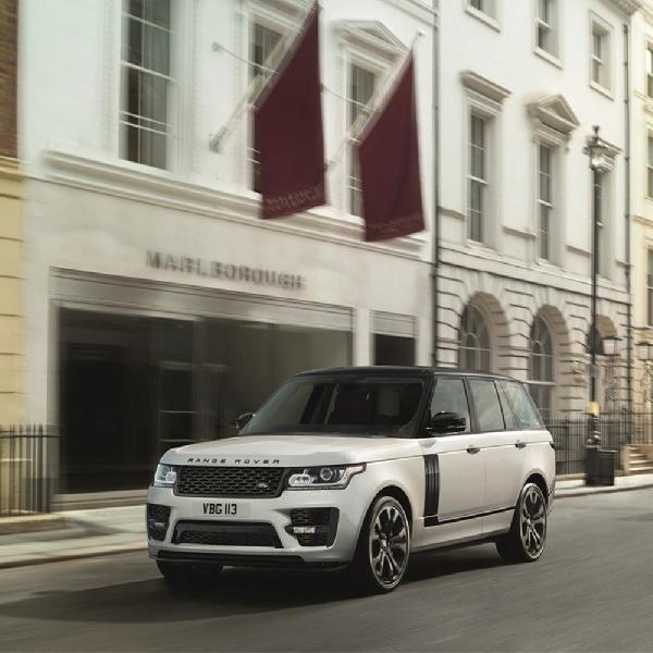 Range Rover SVO Desain Pack: Model Paling Stylish Dikelasnya