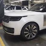 Jelang Peluncuran, Tampilan Range Rover 2022 Bocor