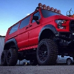 RaptorBus, Rombak Ford E-Series Lawas Jadi Van 6x6