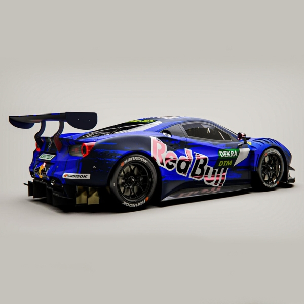 F1: Red Bull Ungkap Alex Albon Membalap Dengan Ferrari 488 GT3 di DTM