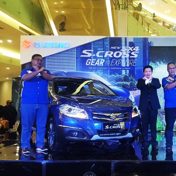 Suzuki New SX4-Cross Meluncur di 15 Kota