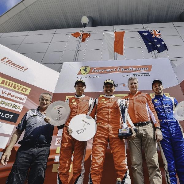 Trofeo Pirelli Seri 4 : Renaldi Hutasoit Raih Podium  Pertama di Fuji Speedway