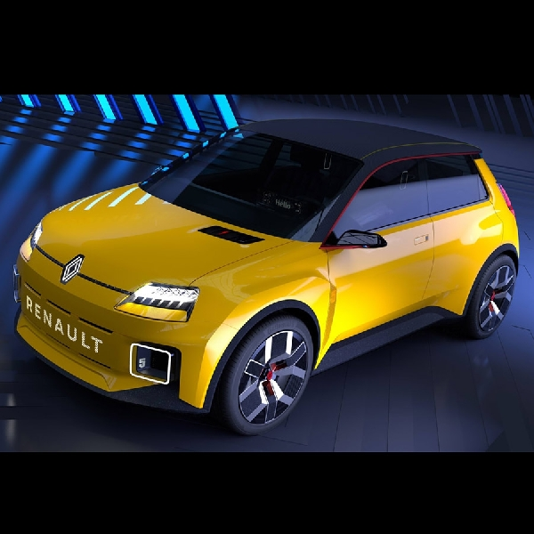 New Renault 5, Hatchback Retro Full Electric