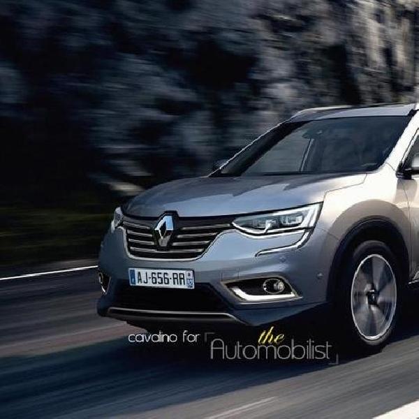 Renault Koleos akan disebut Jadi Maxthon?