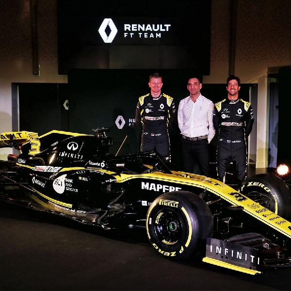 Renault Pertimbangkan Mobil F1 Yang Memenuhi Kualifikasi Untuk Tahun 2020