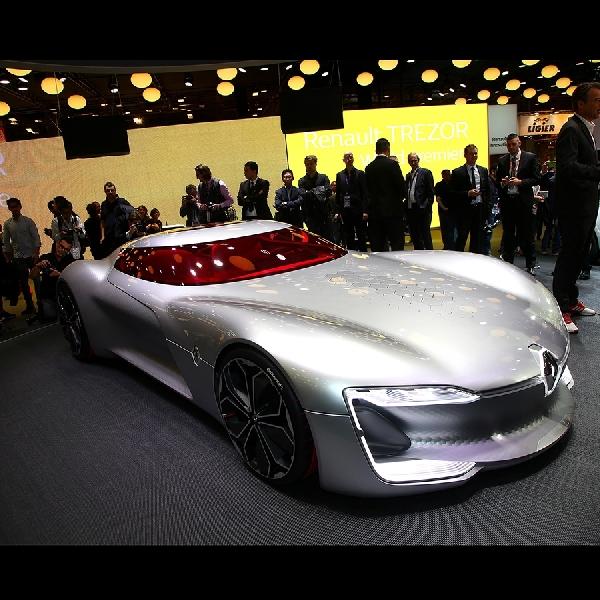 Konsep Mobil Listrik Renault Trezor Hadir di Paris Motor Show