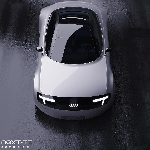 Rendering Audi e-tron TT yang Unik dan Futuristik