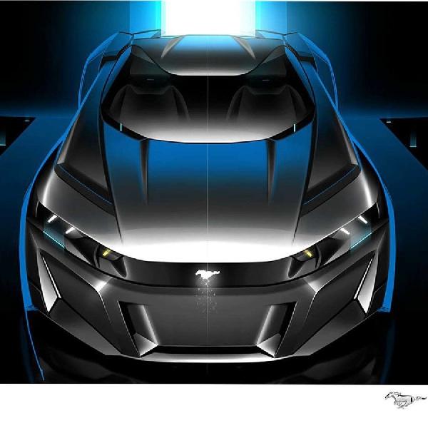 Rendering Ford Mustang Mach-GT Wujud Kendaraan Listrik Yang Diinginkan
