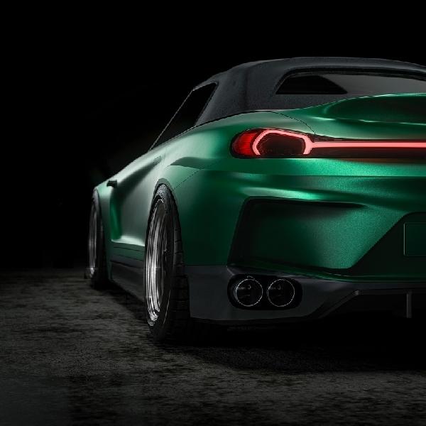 """Rendering Honda S2000 """"Revival"""" 2024 Menggunakan Roda Porsche 911"""