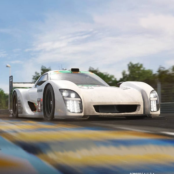 Rendering Mazda RX-7 Le Mans Membawa Rotary Engine Kembali