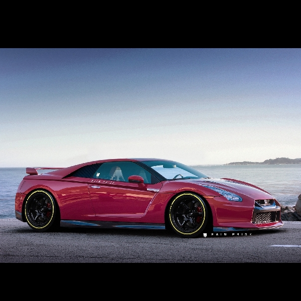 Rendering Nissan GT-R Godzila Layak Sebuah Supercar
