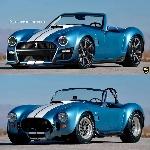 Rendering Shelby Cobra GT500: Kombinasi Dua Ikon Amerika Jadi Muscle Roadster
