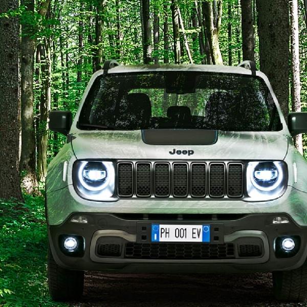 Jeep Siap Hadirkan Renegade dan Compass 4xe PHEV