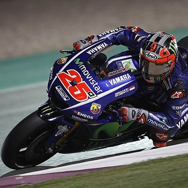 MotoGP: Vinales Raih Kemenangan Sensasional di Qatar