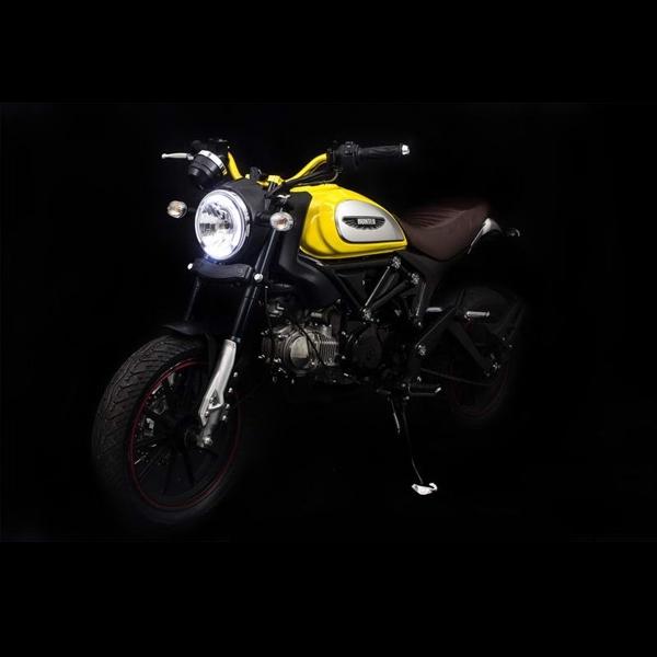 Lifan Hunter 250 Jelmaan Ducati Scrambler Hanya untuk Pasar Thailand