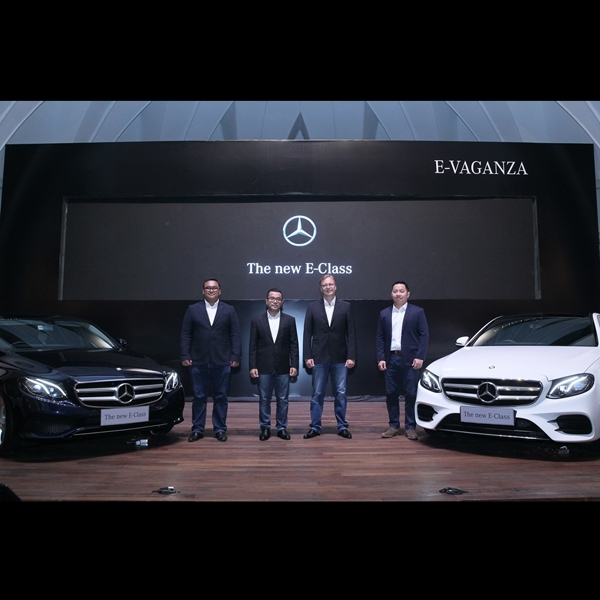 Mercedes Indonesia Luncurkan New E-Class