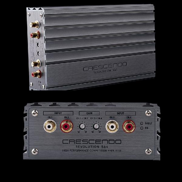 Crescendo REVOLUTION 5A4 Amplifier dengan Resolusi Tinggi untuk Kompetisi Car Audio