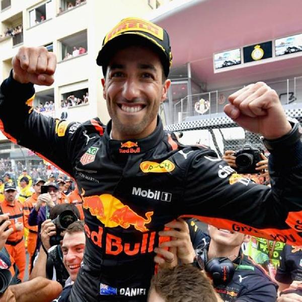 Hamilton dan Vettel Sudah Prediksi Kemenangan Ricciardo