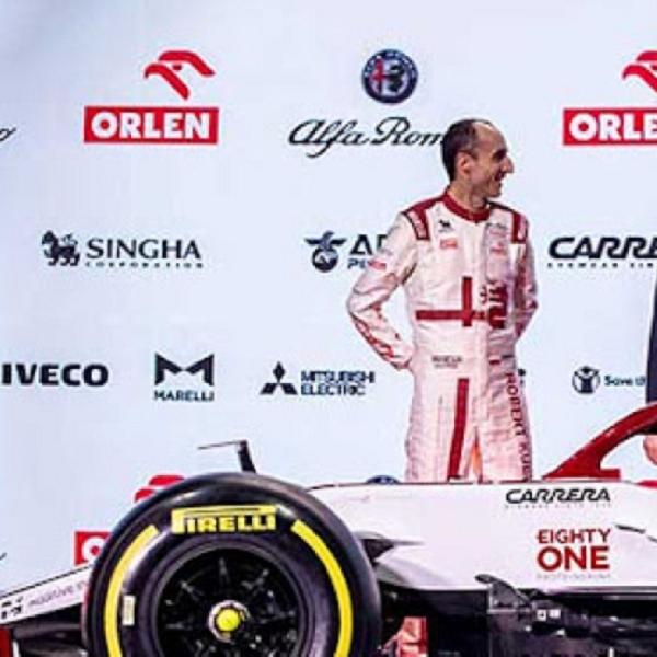 F1: Robert Kubica Kembali Membalap Untuk Alfa Romeo di Grand Prix F1 Italia