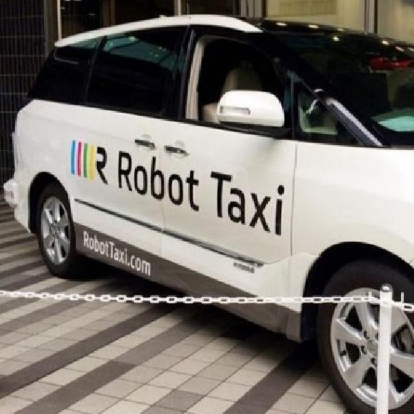 Jepang akan Uji Coba Robot Taksi [ Driverless ]
