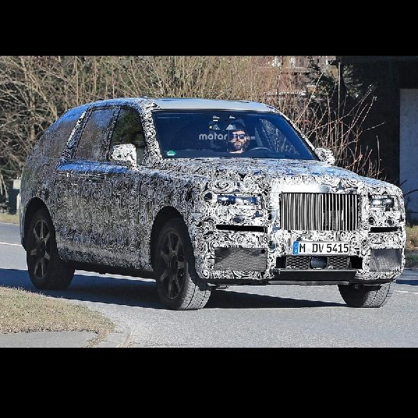 Rolls-Royce Cullinan Mulai Diuji