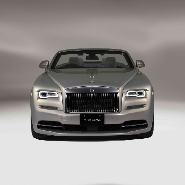 "Rolls-Royce Dawn Bespoke ""The Kita"" Terinspirasi Bangunan Jepang"