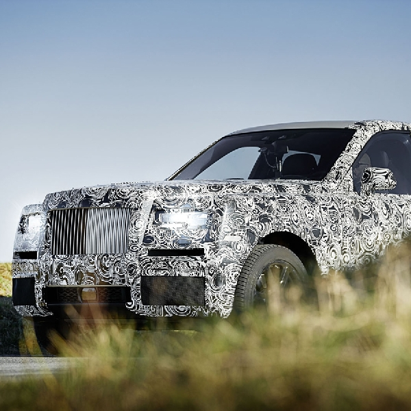Rolls Royce Mulai Menguji SUV Pertamanya